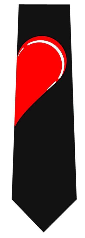 赤ハートネクタイ(右側)の写真