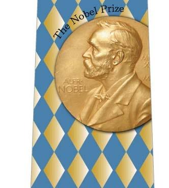 あなたにもノーベル賞ネクタイの写真