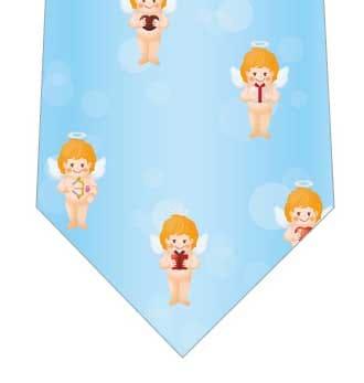 天使のギフトネクタイ(水色)の写真