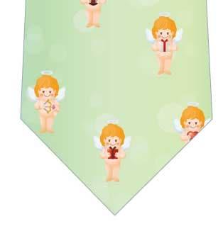 天使のギフトネクタイ(緑)の写真