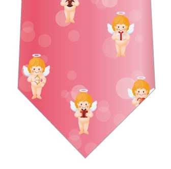 天使のギフトネクタイ(ピンク)の写真