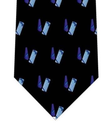 青いネクタイのプレゼントネクタイ(小)の写真