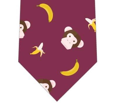 チンパンジーとバナナネクタイ(あずき)の写真