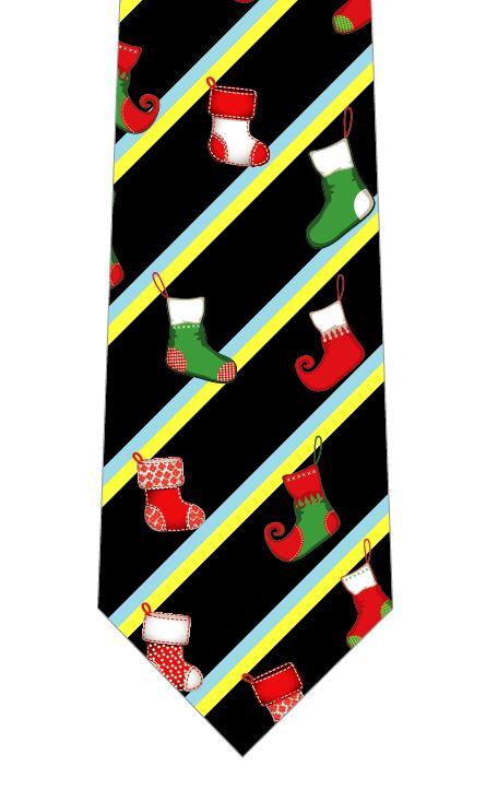 クリスマスネクタイ(靴下)の写真