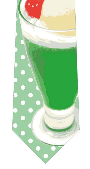 クリームソーダネクタイ(緑)の写真