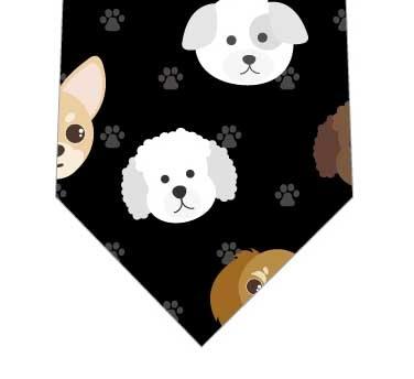 犬ネクタイ(黒)の写真