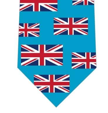 イギリス国旗ネクタイ(横・水色)の写真