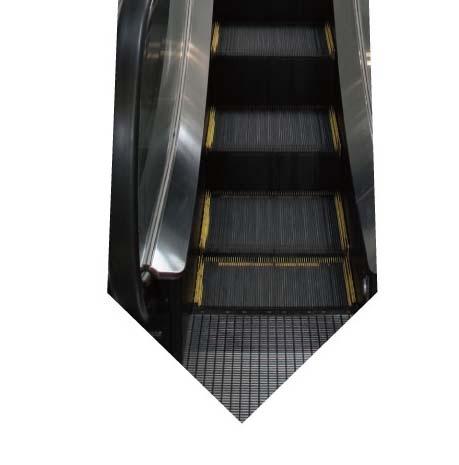 エスカレーターネクタイの写真