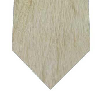 ファーのようなネクタイ
