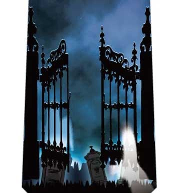 ハロウィン(地獄の門)ネクタイの写真