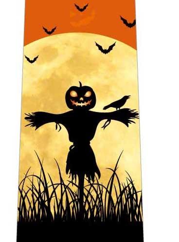 ハロウィンかかしネクタイの写真