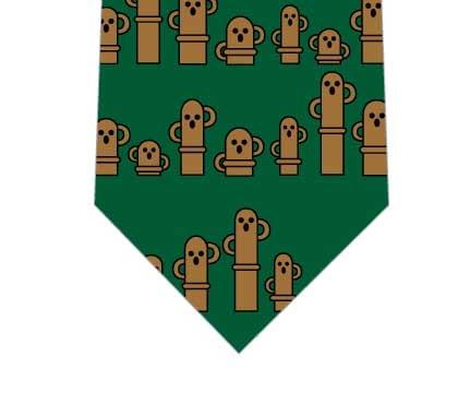 埴輪ネクタイ(緑)の写真