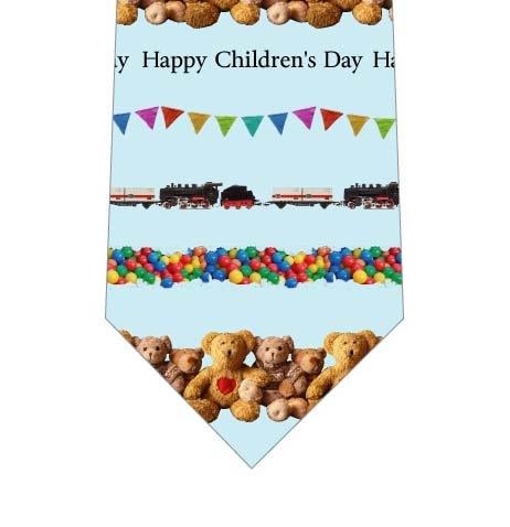 HappyChildren's Dayネクタイ(水色)の写真
