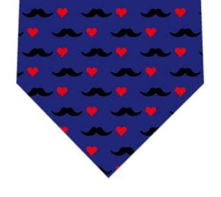 髭×ハートネクタイの写真