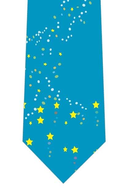 星空ネクタイの写真