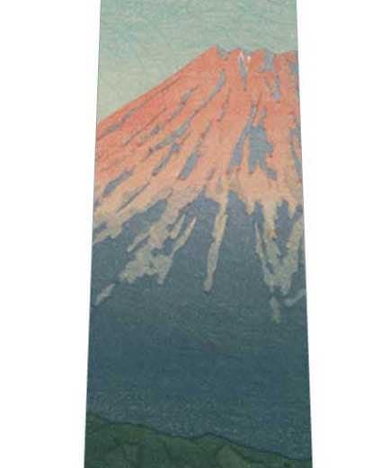 富士山の浮世絵ネクタイの写真