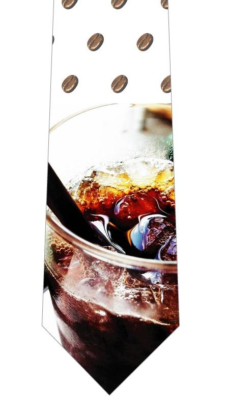 アイスコーヒーネクタイの写真