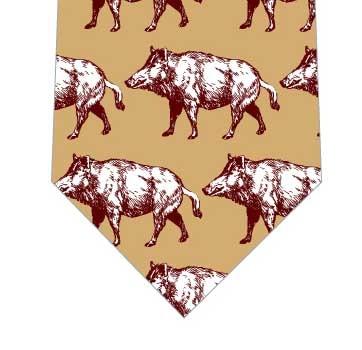 猪ネクタイの写真