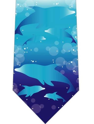 イルカの親子ネクタイの写真