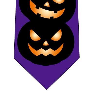かぼちゃ積んだネクタイの写真