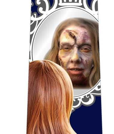 鏡よ鏡ネクタイの写真