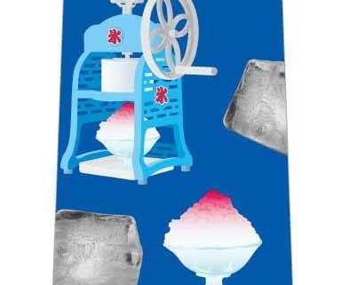 かき氷工程ネクタイの写真