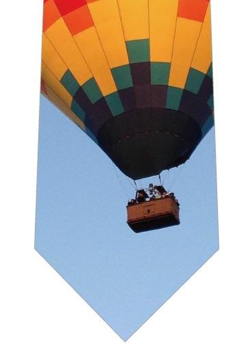 気球ネクタイ(写真)の写真