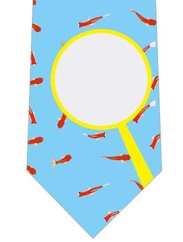 金魚とポイネクタイの写真