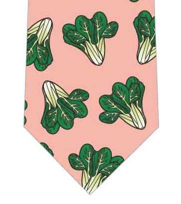 小松菜ごろごろネクタイの写真