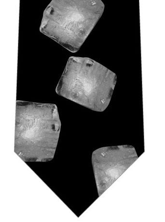 氷ネクタイの写真