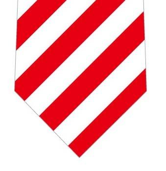 紅白ネクタイ(ストライプ)の写真