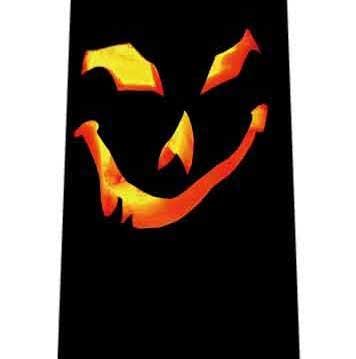 暗闇で光る目ネクタイの写真