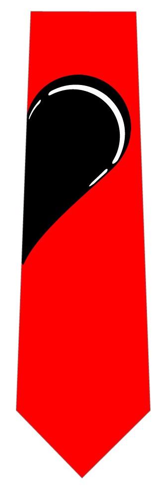 黒ハートネクタイ(右側)の写真