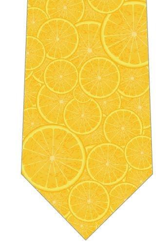 レモンネクタイの写真