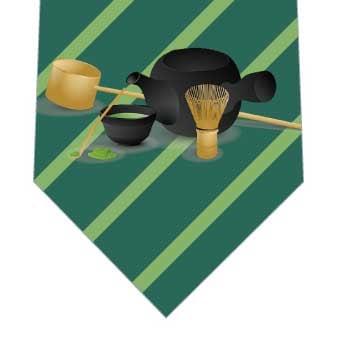 抹茶(濃)ネクタイの写真