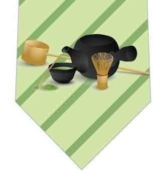 抹茶(薄)ネクタイの写真