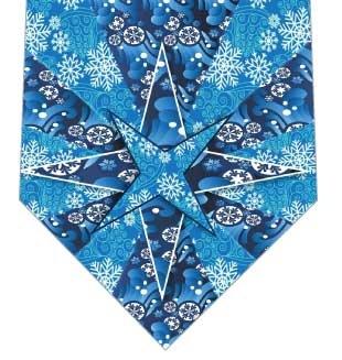 万華鏡ネクタイの写真