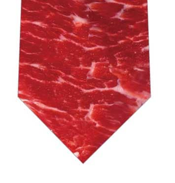 肉ネクタイの写真