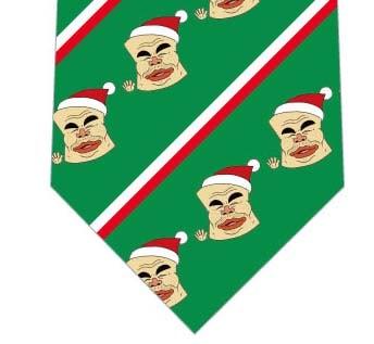 【メソポ田宮文明】サンタクロ臼ネクタイ(緑)の写真