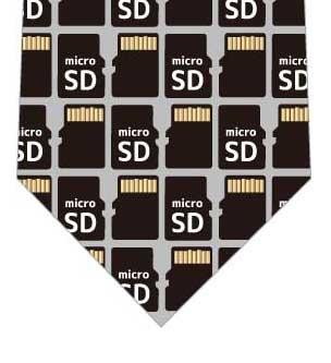 microSDネクタイの写真