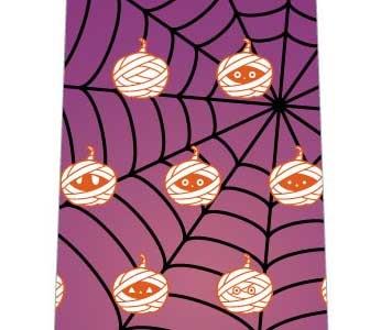 ハロウィン(ミイラかぼちゃ)ネクタイの写真