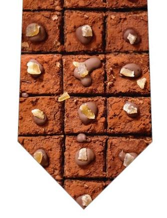 生チョコレートネクタイの写真