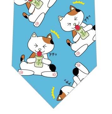 猫舌ネクタイ(水色)の写真