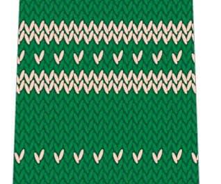 ニット風ネクタイ(緑)