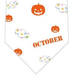 Octoberネクタイ(カボチャ)の写真