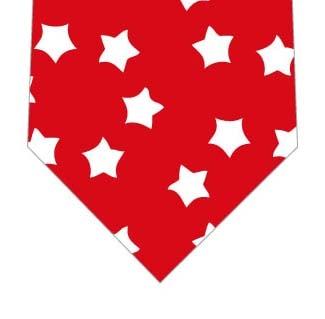 お星様いっぱいネクタイ(赤)の写真