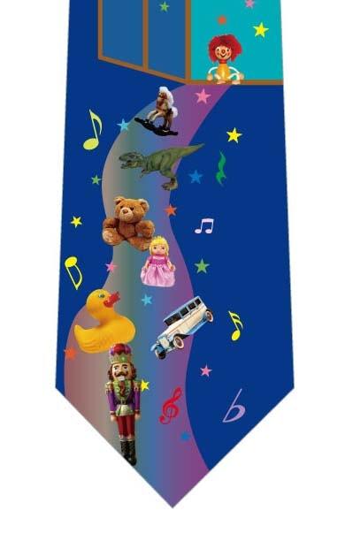 おもちゃの行進ネクタイの写真