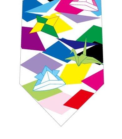 折り紙ネクタイの写真