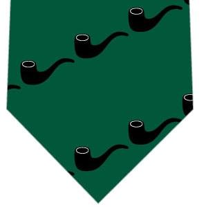 パイプネクタイ(緑)の写真
