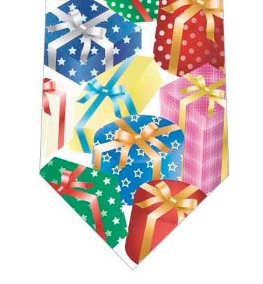 プレゼントボックスネクタイの写真